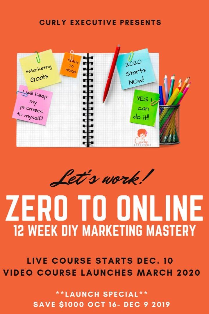 Zero to Online Marketing Mastery