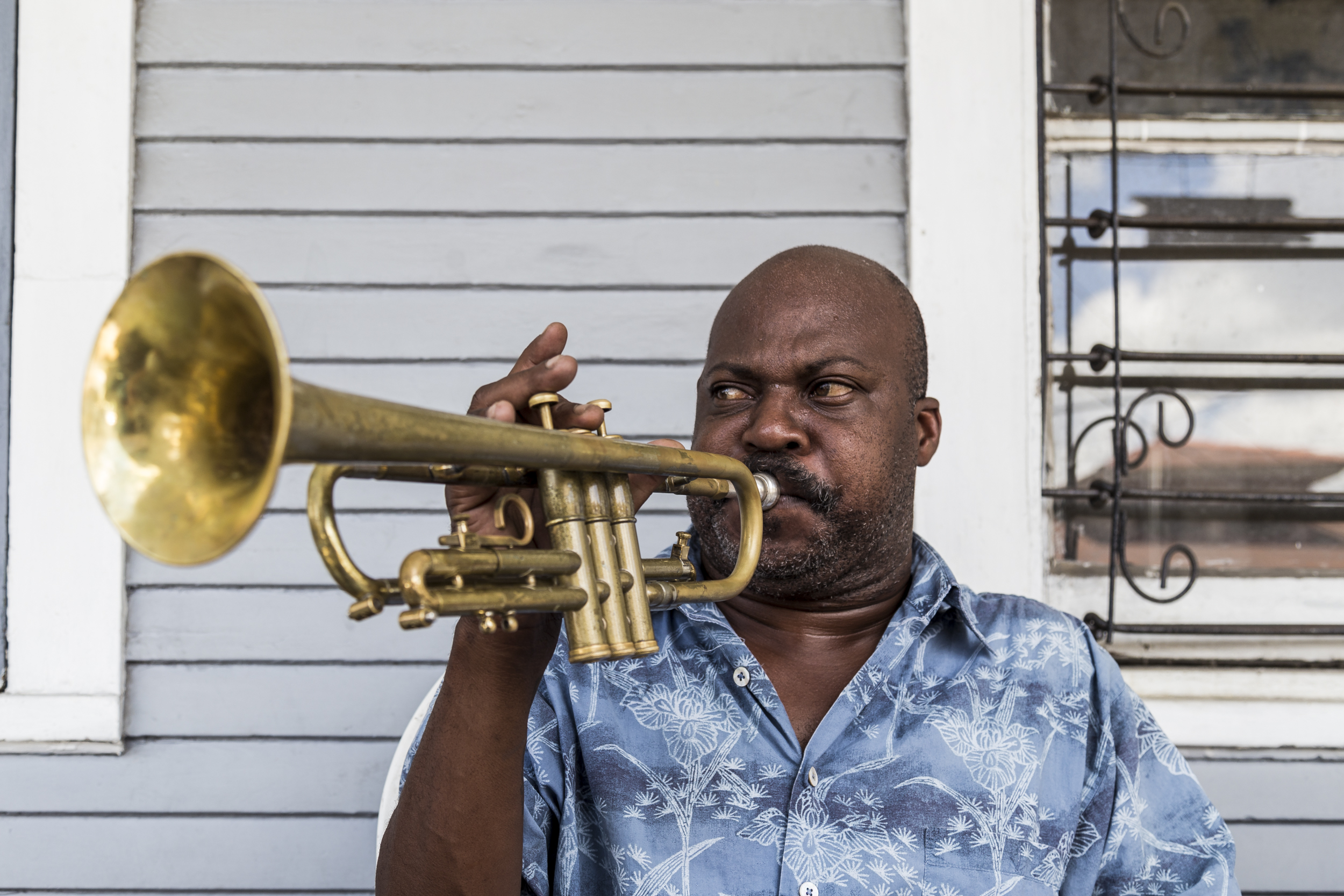 Trumpet Player | New Orleans
