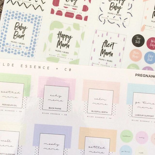 We love seeing how excited our customers are to receive their orders! @soulinspiredbeauty shows off her new Pregnancy + Birth and Mums + Bubs label and recipe card ranges and can't wait to get blending. ⠀⠀⠀⠀⠀⠀⠀⠀⠀ We have 13 different label ranges that come with suggested recipe cards (and lid stickers for the 11 roller bottle ranges!). Our labels are professionally printed on water and oil proof, gloss vinyl and have the option of purchasing full kits including roller bottles and a storage bag ⠀⠀⠀⠀⠀⠀⠀⠀⠀ They're great for personal use, as gifts or for using in your Wellness Advocate business for make + take workshops, prizes and incentives. ⠀⠀⠀⠀⠀⠀⠀⠀⠀ Shop the ranges at www.wildeessence.co and check out our wholesale memberships for Wellness Advocates making bulk purchases at www.wildeessence.co/wholesale ⠀⠀⠀⠀⠀⠀⠀⠀⠀ P.S We are offering FREE SHIPPING for the whole month of March on all orders of $100 or more within Australia. Available until Midnight 31 March 2018. Not to be used in conjunction with any other offer. The code SHIPPINGLOVE must be entered at checkout. . ⠀⠀⠀⠀⠀⠀⠀⠀⠀ . ⠀⠀⠀⠀⠀⠀⠀⠀⠀ #essentialoils #essentialoilblends #naturalhealth #naturalliving #wildeessence #intentionalliving #essentialoillabels #essentialoilrecipes #essentialoilclass #rollerbottle #rollerblends #rollerbottleblends #rollerbottleclass #rollerbottlelabels #makeandtakeclass #diyessentialoils #naturalsolutions #naturalwellness  #naturalbeauty #quote #inspiration #doterra #diyblends #chemicalfreehome #chemicalfreeliving #lowtox #lowtoxliving #wellnessadvocate
