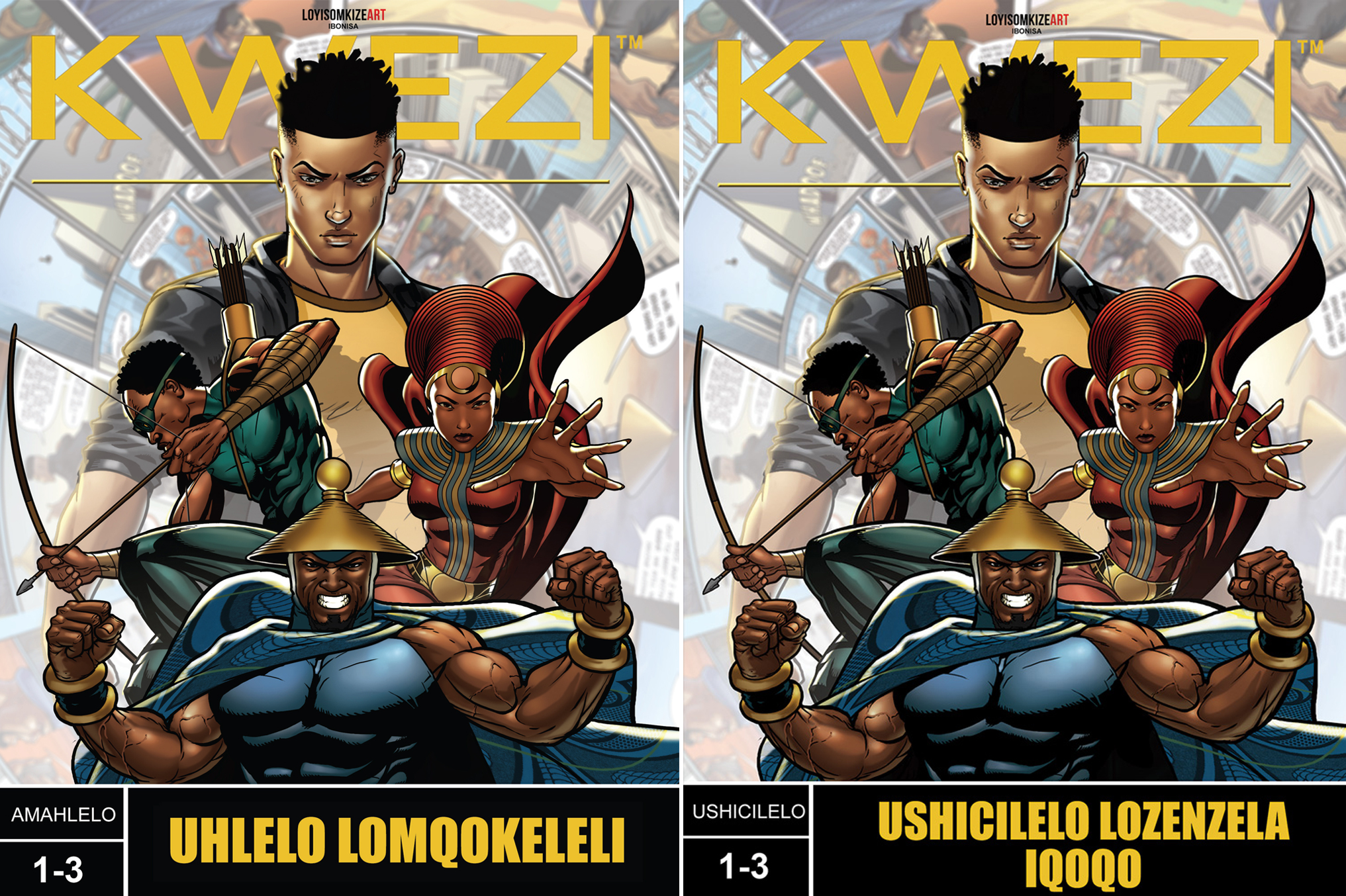 Kwezi comics to be released in Xhosa and Zulu