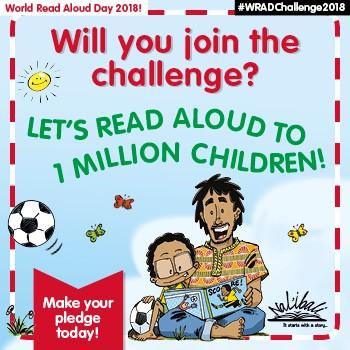 World Read Aloud Day Nal'ibali David Philip
