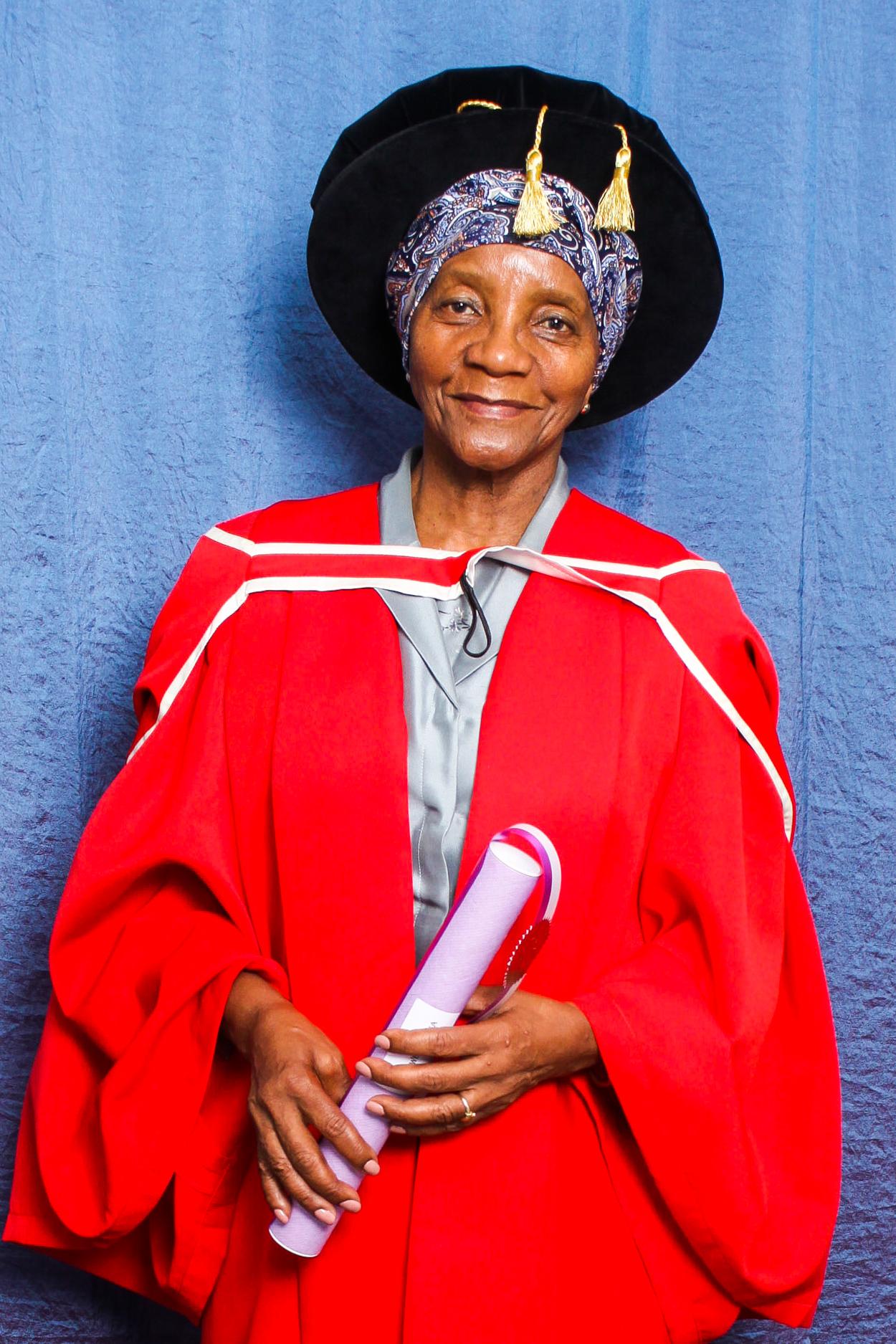 Sindiwe Magona Honorary Doctorate Rhodes University