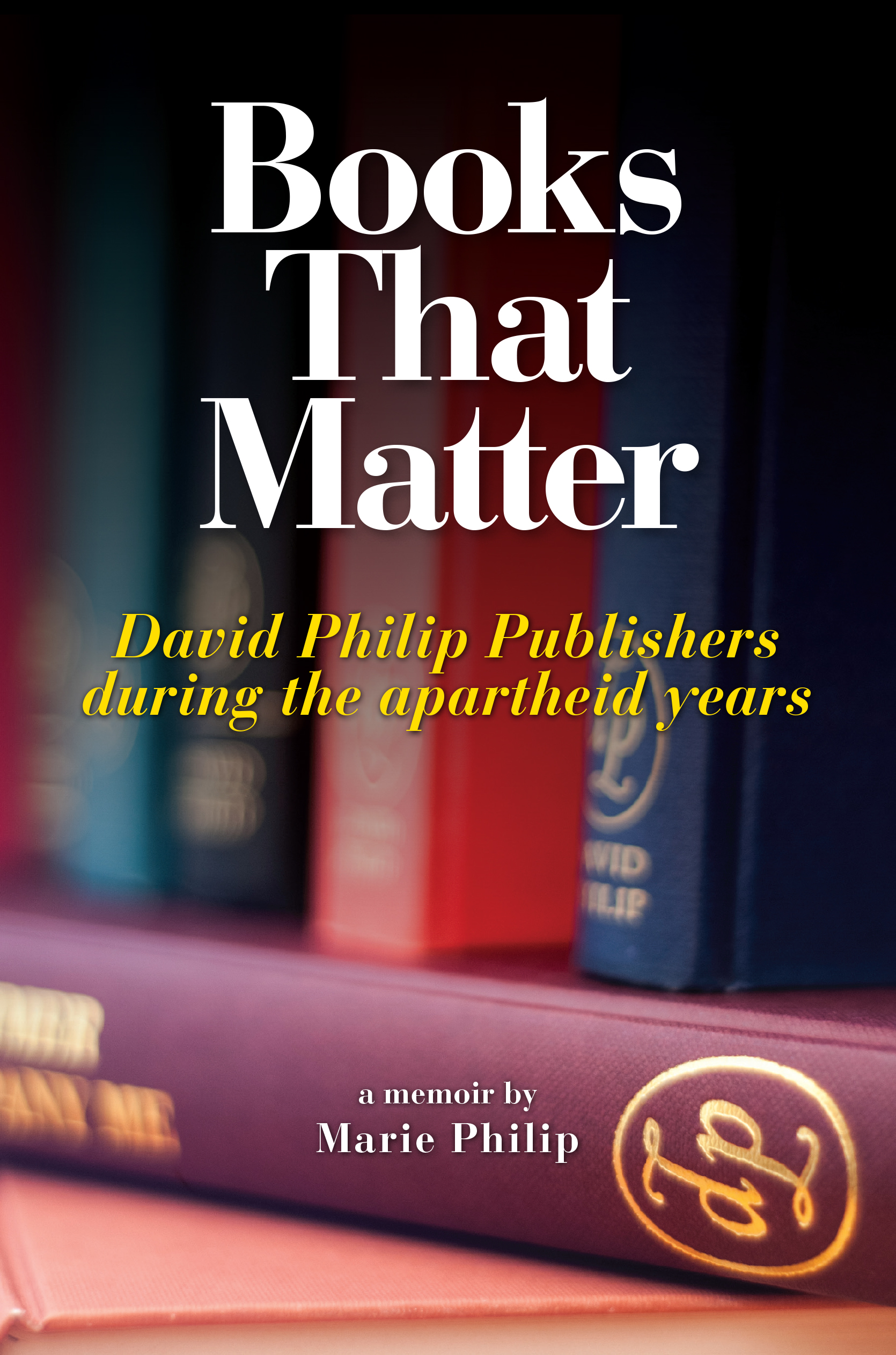 Books That Matter - Marie Philip