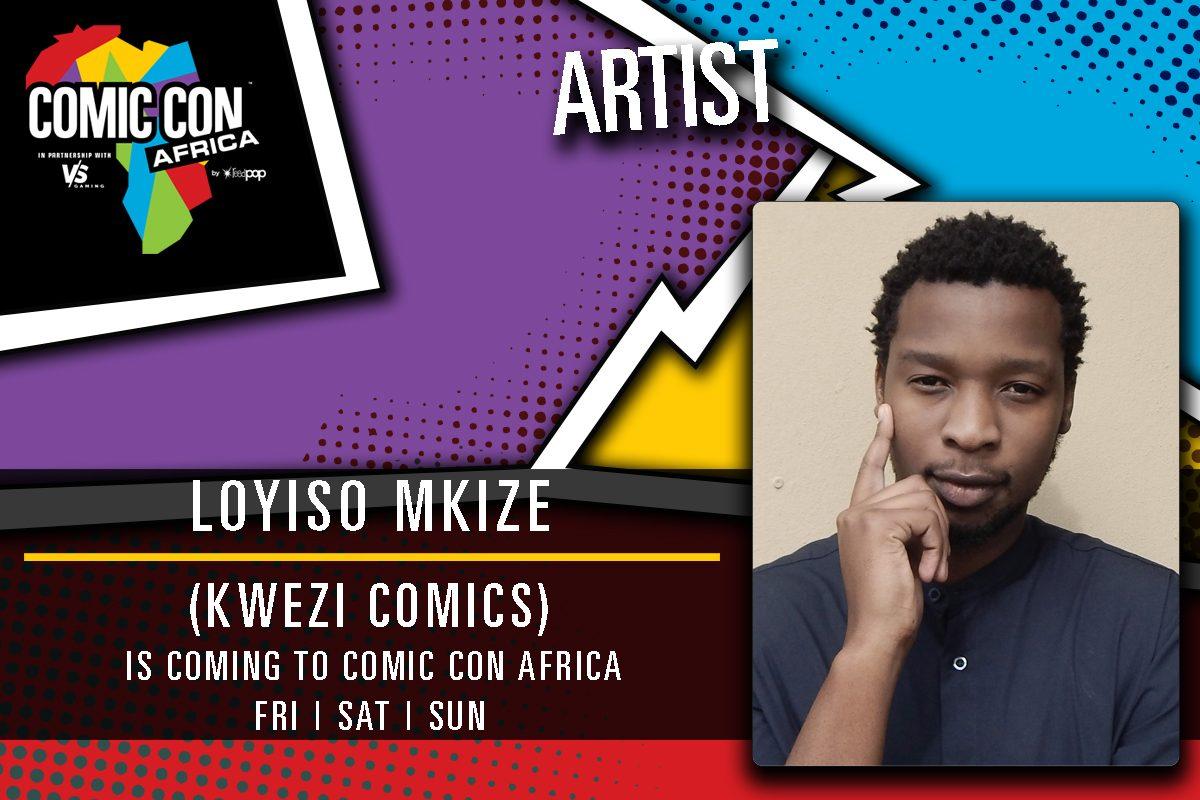 Loyiso Mkize Kwezi Comic Con Africa