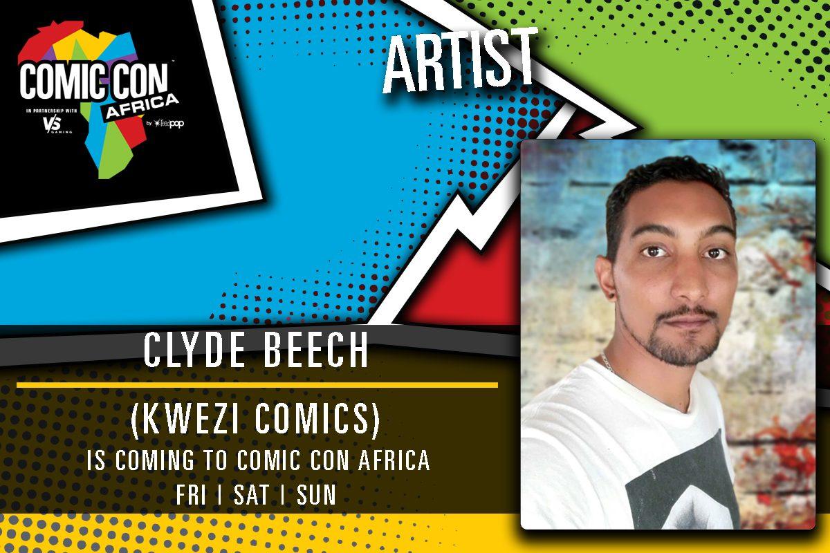 Clyde Beech Kwezi Comic Con Africa