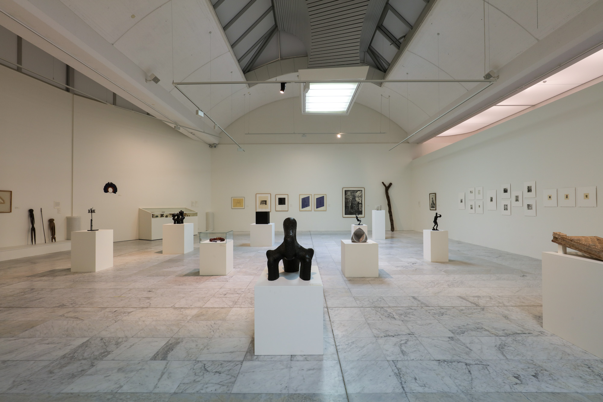 Installation view, Intimate and Monumental - Jan Groth and Steingrim Laursen Collection, Stavanger Kunstmuseum 2015. Photo Courtesy Stavanger Kunstmuseum. Photographer: Oddbjørn Løken Aarstad