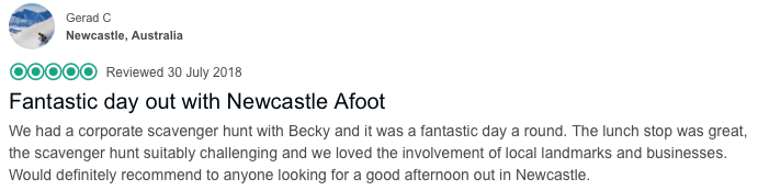 Newcastle Afoot work party review.png