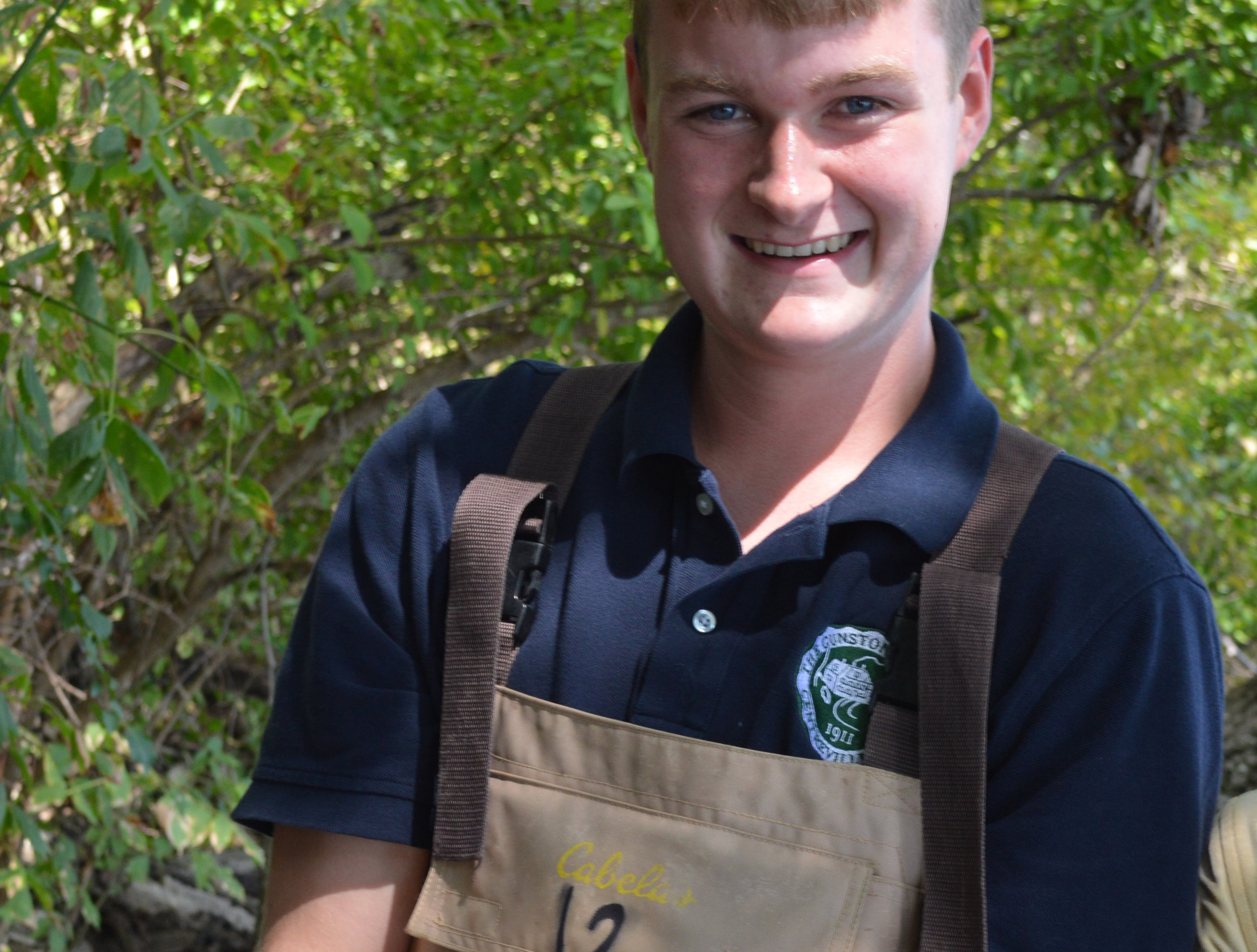 """- """"The Watershed Semester doesn't just have to be for students thinking about environmental careers. There are many other elements of the semester, like policymaking in government and enhancing your leadership qualities."""" - Mason Rudolfs"""