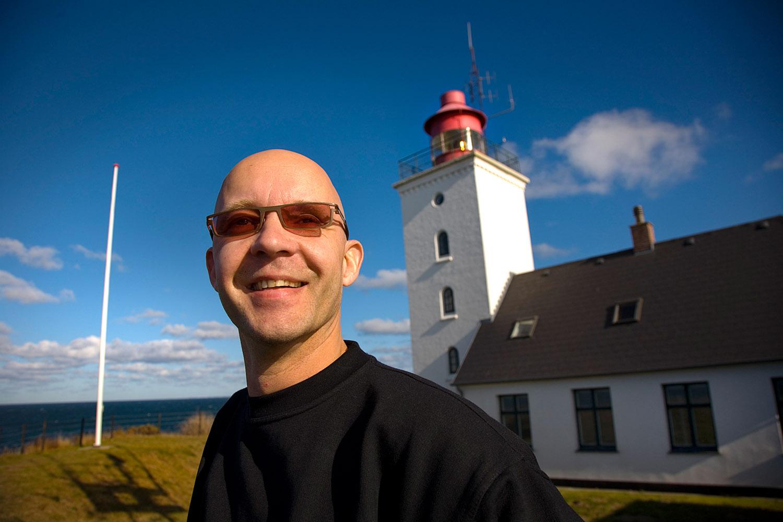Mogens Gotlob - fyrmester på Røsnæs Fyr