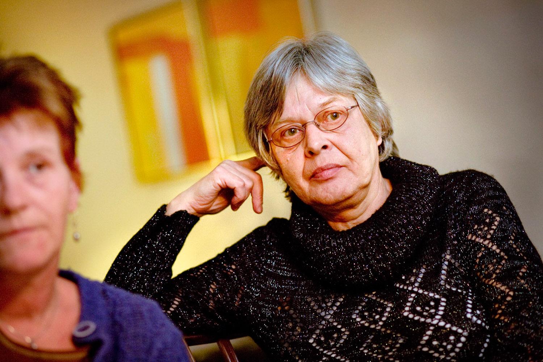 Anne Grethe Thomsen ventede i to og et halvt år på at få de penge, de var blevet snydt for.