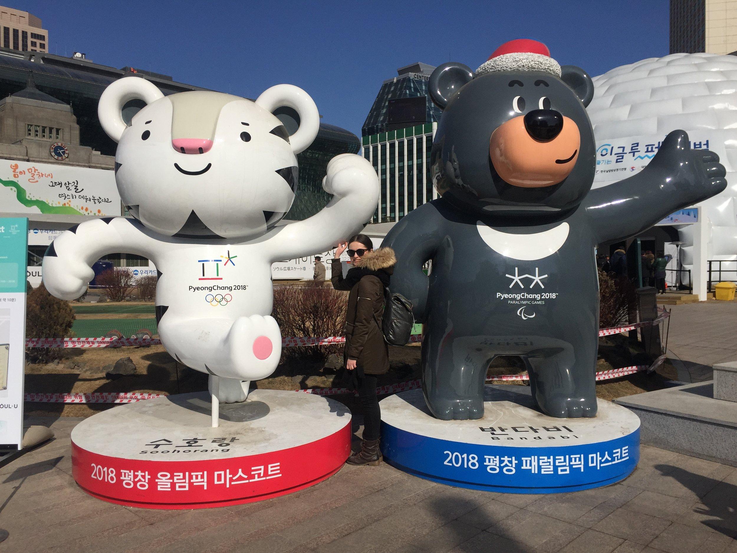 Olympijskí maskoti