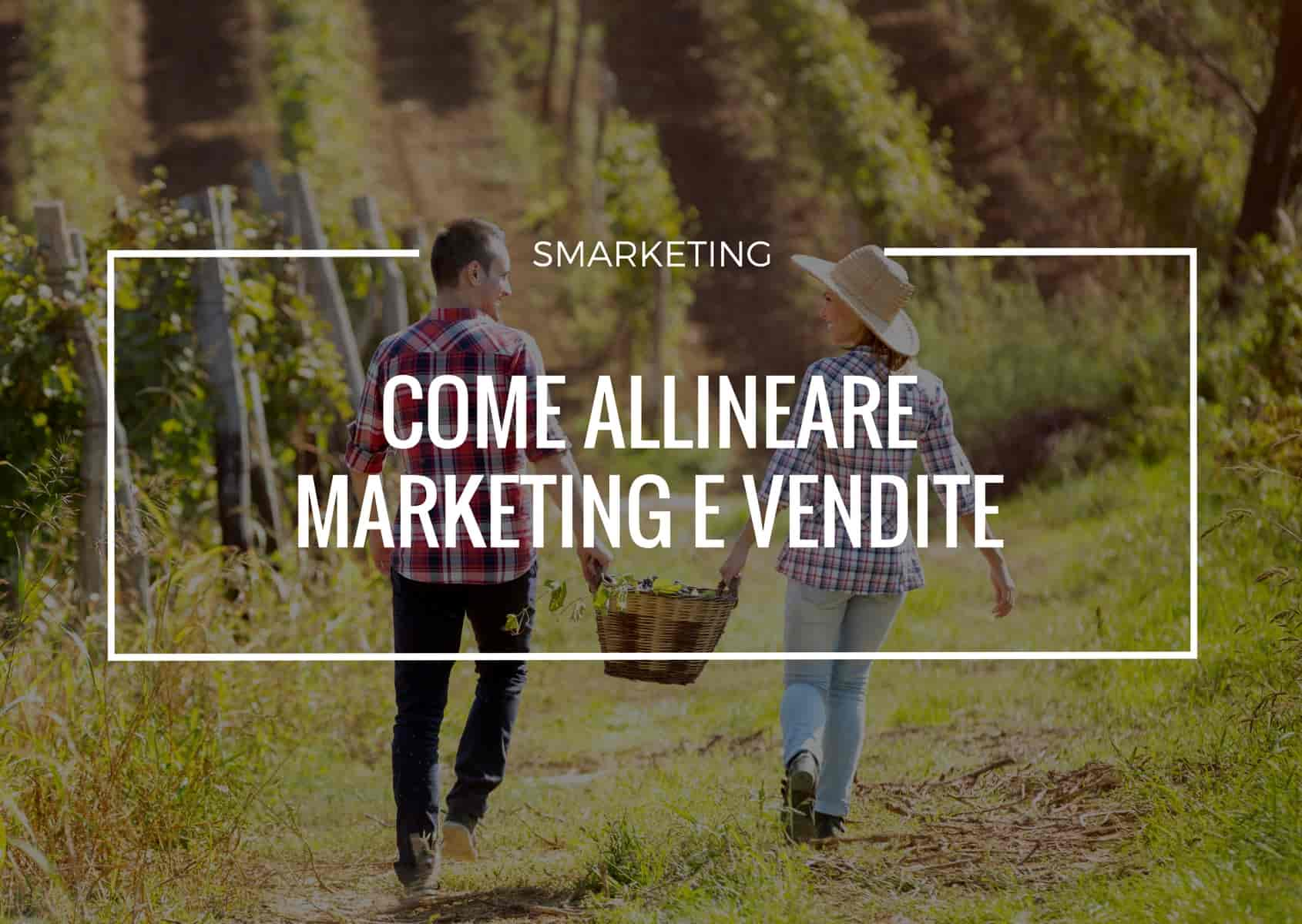 coME ALLINEARE IL REPARTO MARKETING E IL REPARTO VENDITE