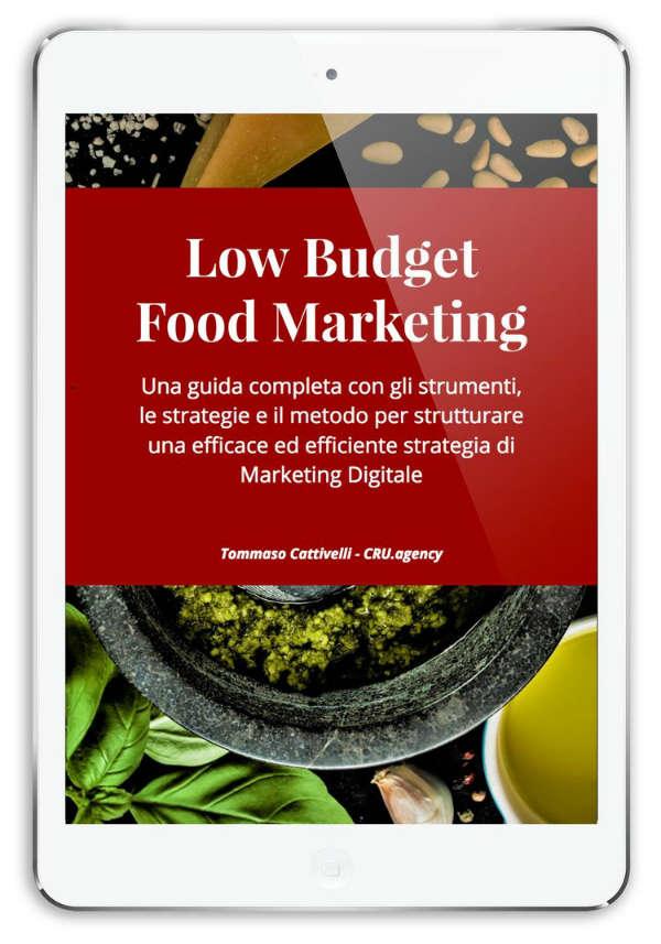 low budget food marketing per il mercato vitivinicolo
