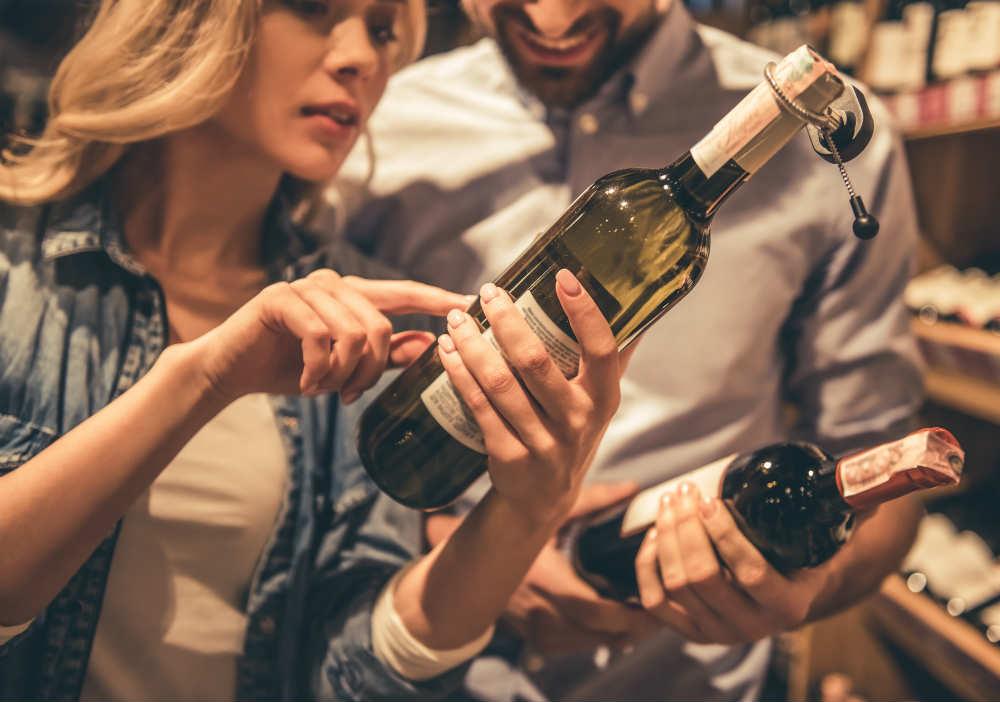l'etichetta del vino è una questione di marketing