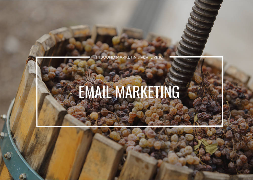 email marketing per il settore vitivinicolo: strategia e metodo