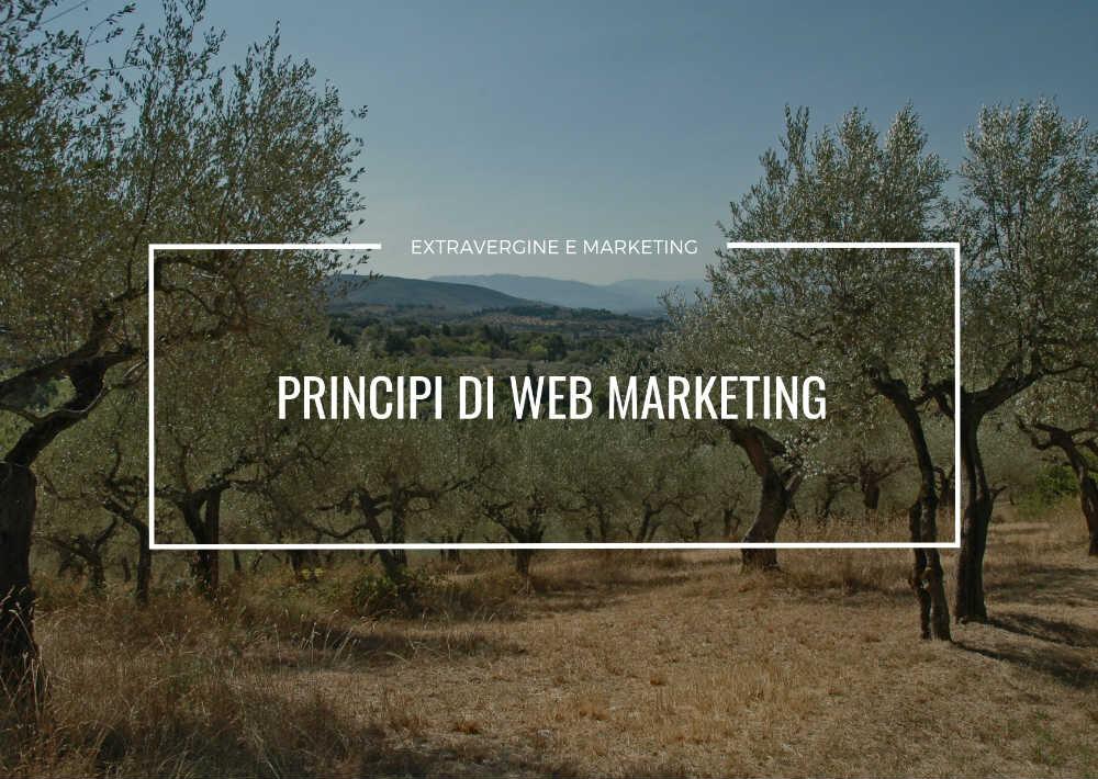 principi web marketing olio extravergine
