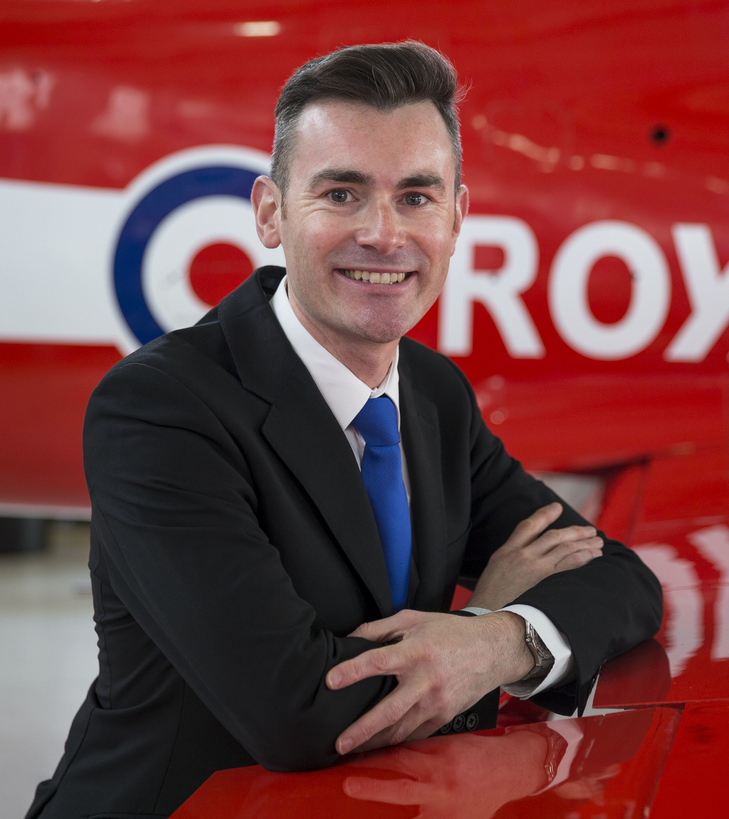 Red Arrows Communications Manager Andrew Morton.jpg