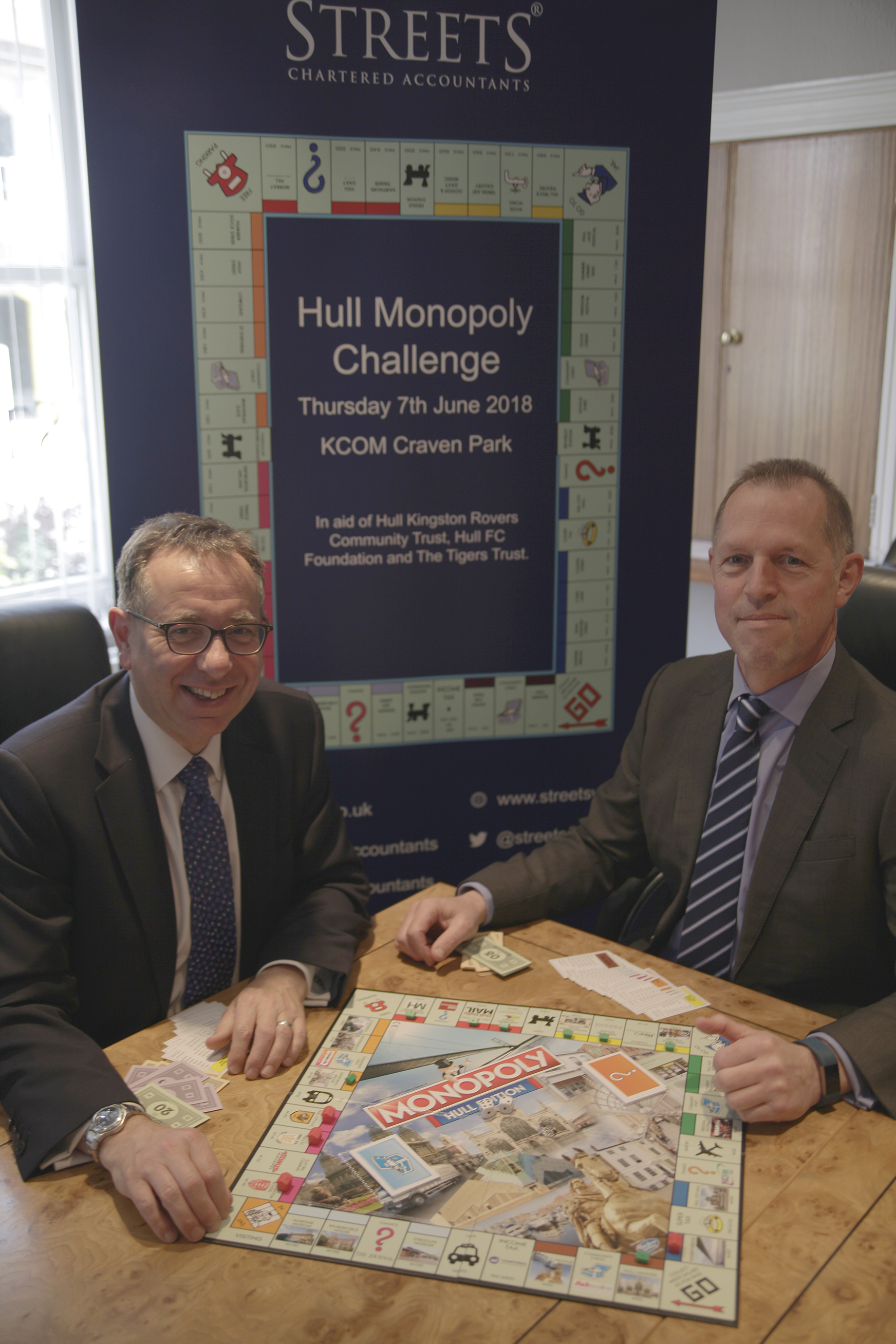 Streets  Hull Monoply Challenge left to right  James Pinchbeck , Partner....jpg