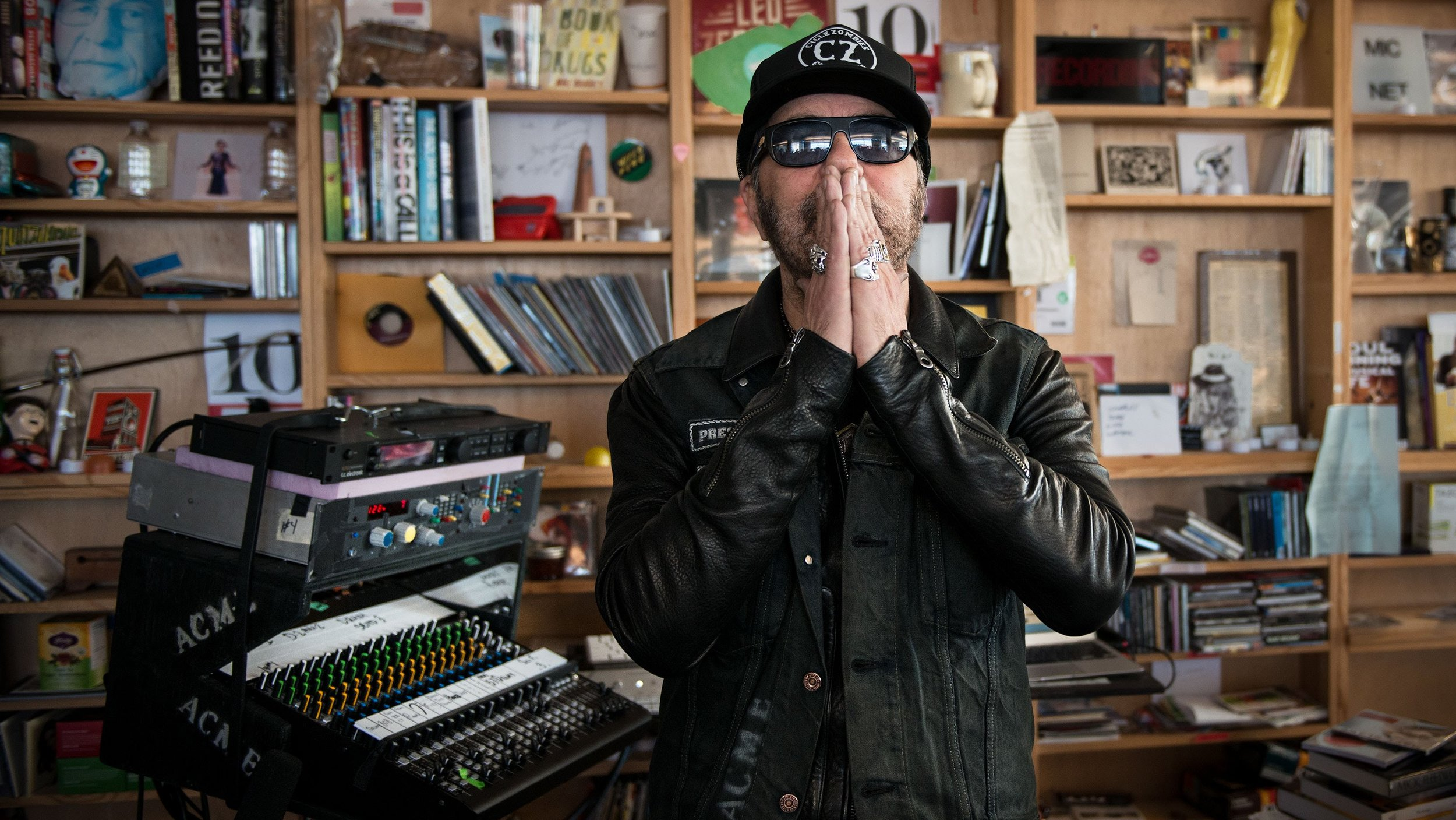 Daniel Lanois (Tiny Desk Concert at NPR Studio)
