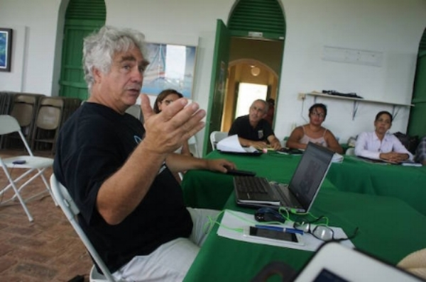 Radio Vieques Station Manger Robert Rabin