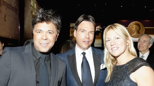 Emilio Rivera, Scott Wilker &Nora Daley at the Carl Sandburg Literary Awards Dinner 2012.