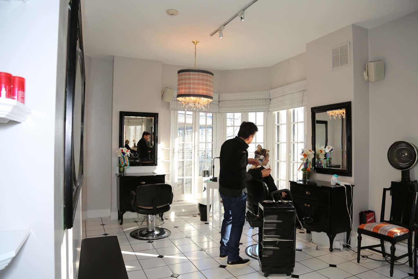Hair  All of the stylists at Salon Duo are trained in advance cutting and coloring techniques. We combine classic sensibility and modern techniques to bring out the best in your hair and you. All our stylists are not only trained in technique, but spend the time to help you achieve the best look just for you.