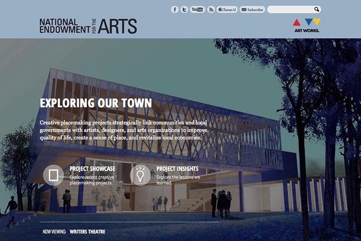 NEA Exploring Our Town Website  Read More →