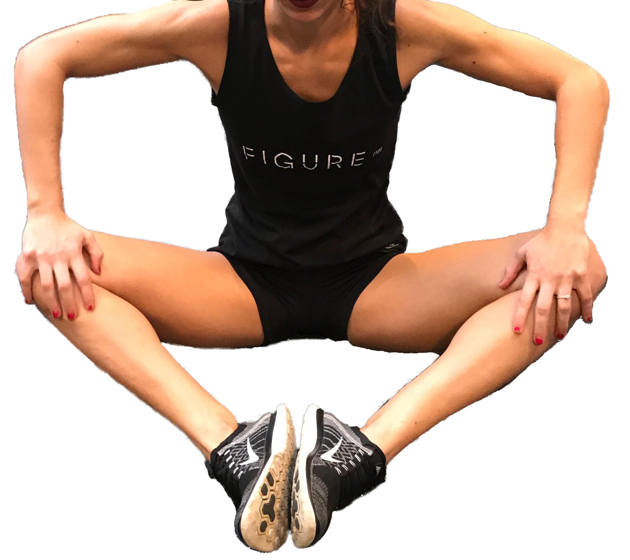 - - Creusez le bas du dos (antéversion)              - Appuyez progressivement avec les mains ou les coudes