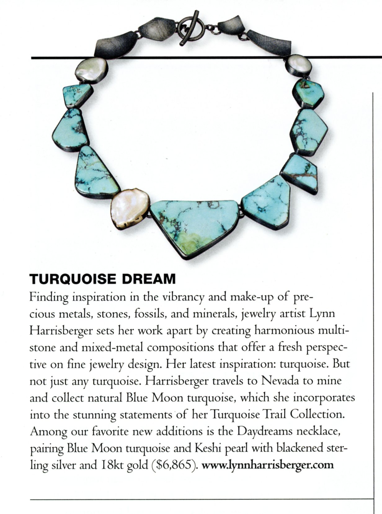 """Day Dreams"" Necklace - Lynn Harrisberger"