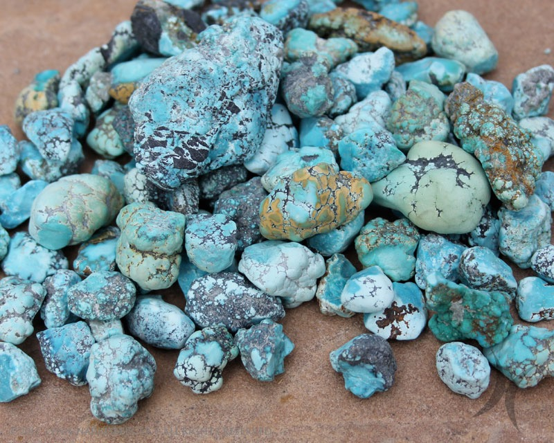 Blue Moon Turquoise Nuggets