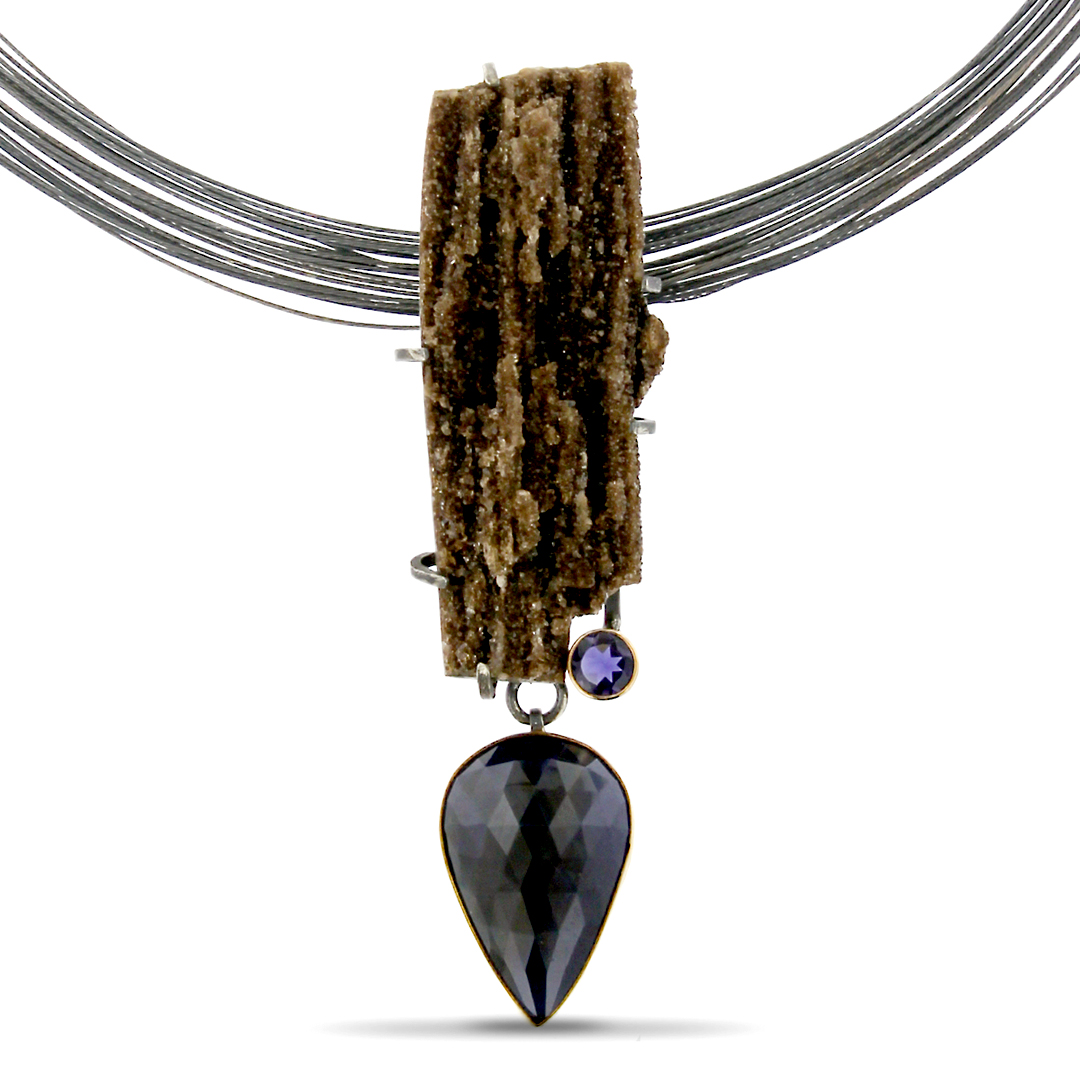 1875-Brown-Drusy-Necklace - Lynn Harrisberger Jewelry.jpg