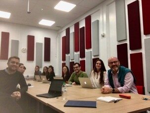 Pro-bono team with Dan Cullen, Amnesty International Intern.