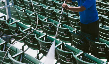 Post Event Cleaning Services - - Complete Venue Cleaning- Pressure Washing- Recycling Collection- Load-Outs/Load-Ins- Ice Out Clean Up- Quick Turns and Brush Backs