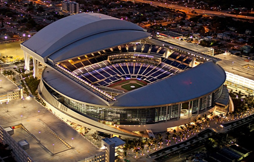 Marlins Park -  Home of the MLB Miami Marlins37,244 seats, 50 suitesLEED Gold CertificationOpened 2012Full service janitorial