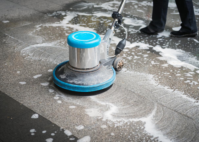 Terrazzo Floor Finish Restoration Pritchard Sports