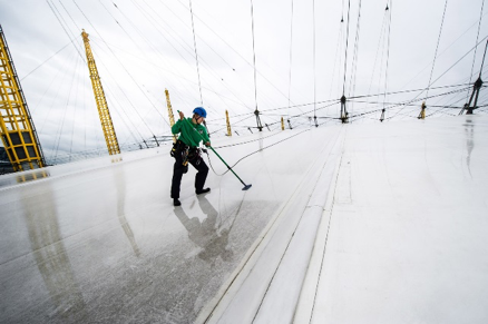 Roof Cleaning Services - Rubber Membrane RoofsMold RemediationSoft WashingCompliance with Local Ordinances
