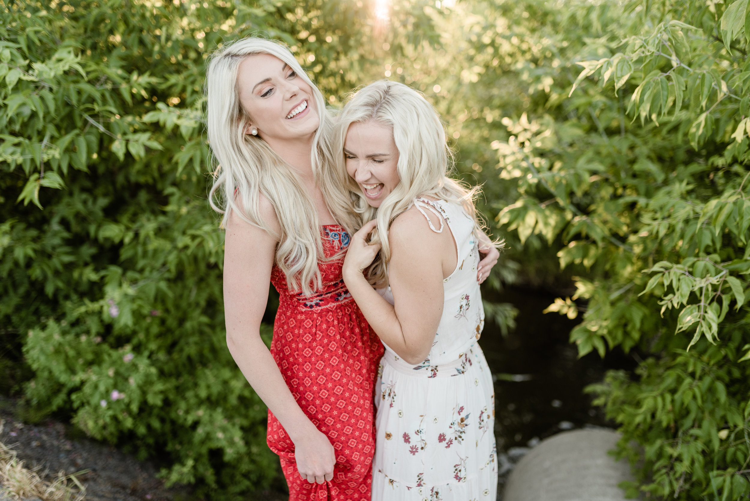 Laughter with close friends on a random weeknight is so necessary during our busy wedding season