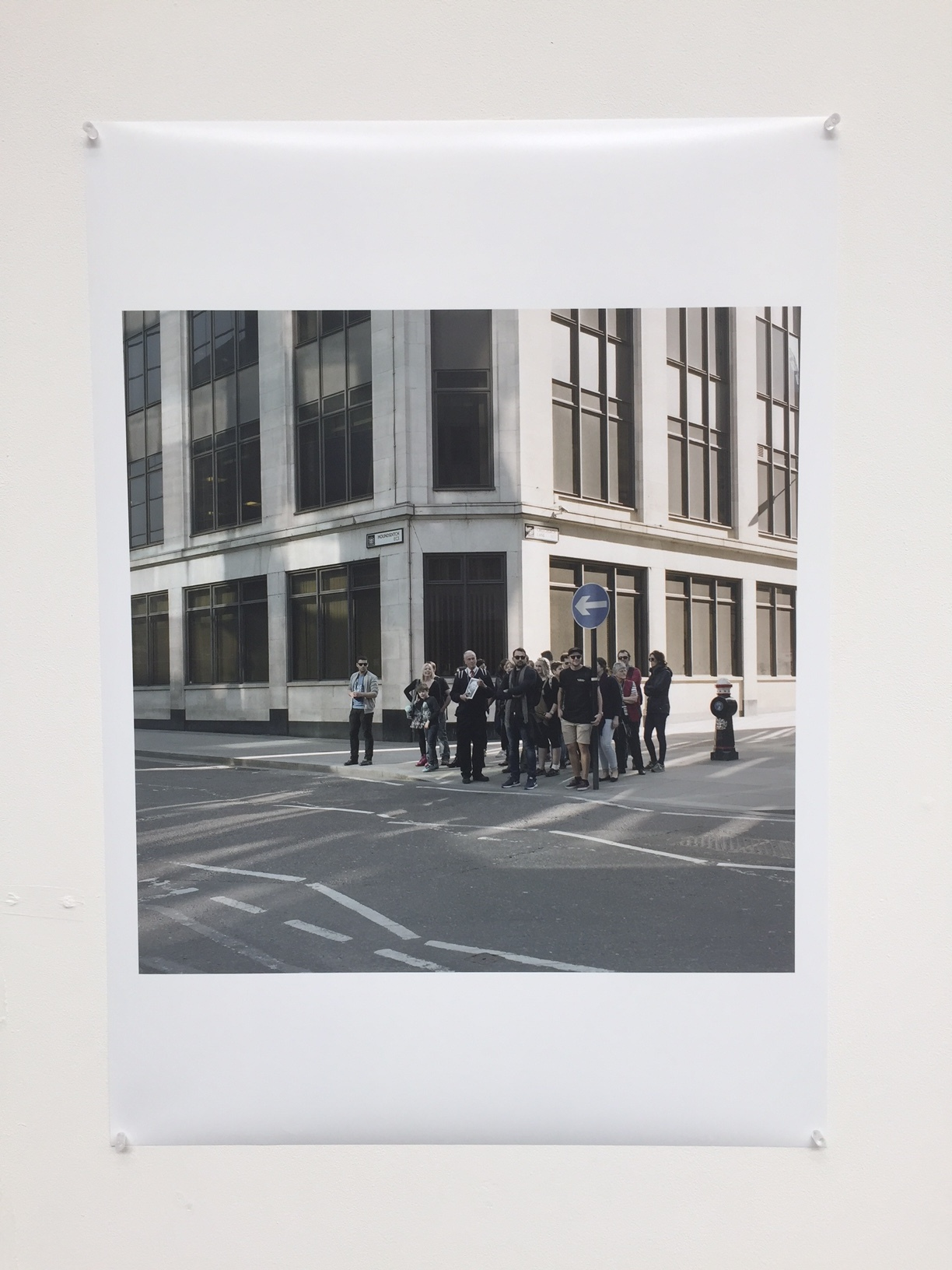 Original A1 print exhibited at The Old Truman Brewery.  £499  - Item Code: EP3