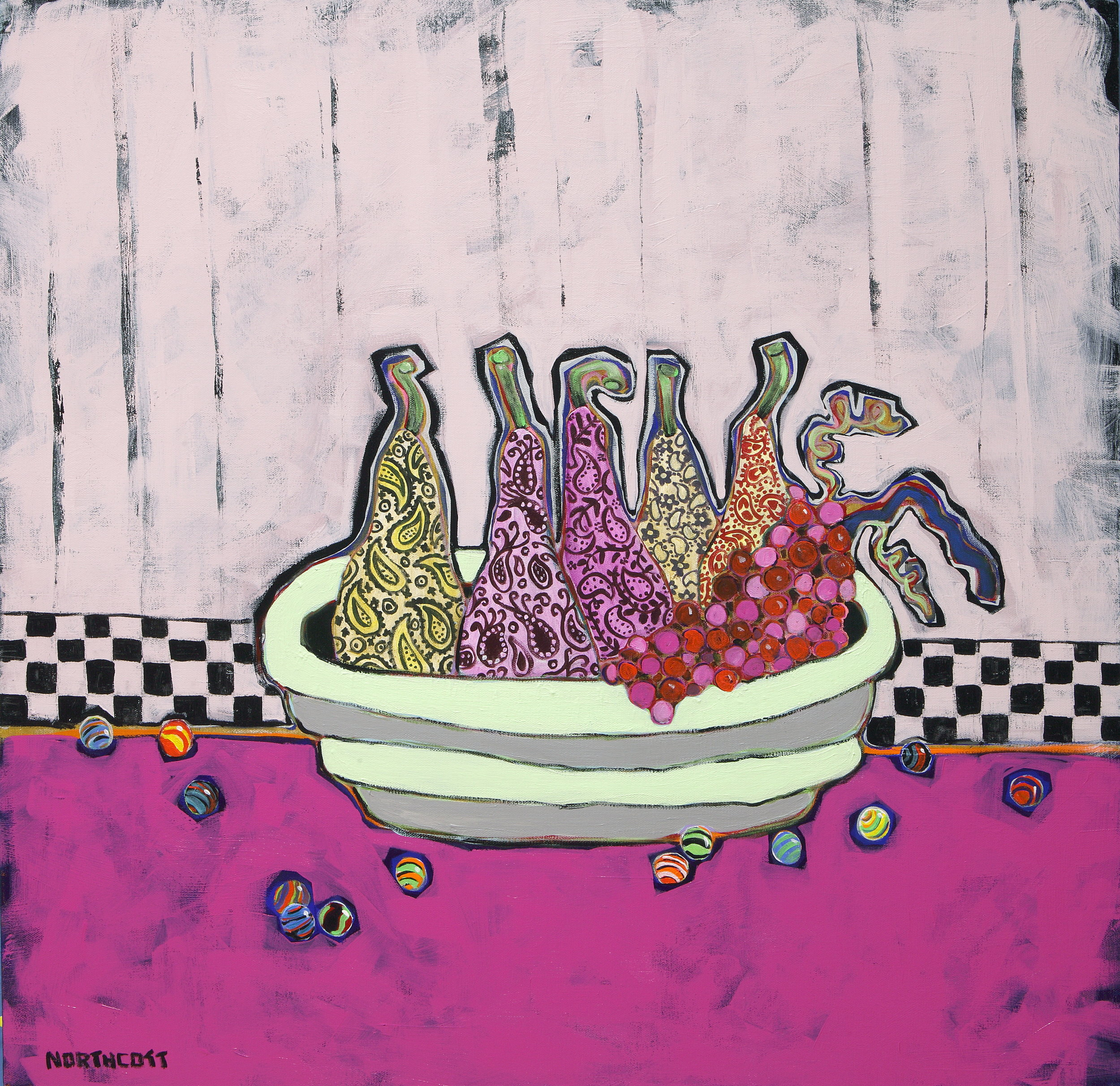 """Paisley Pears and Marbles 