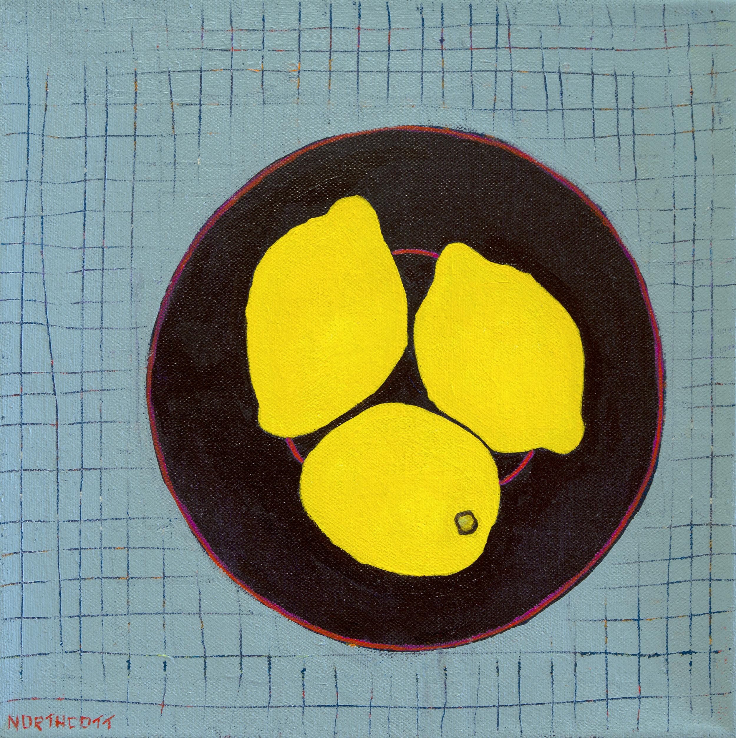 """Lemon Platter   18"""" X 18"""""""