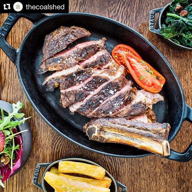 Check out @thecoalshed 🥩 Newly opened near Tower Bridge - great steak and service. Organise it today on Hatch. Download in bio📱 • • • •  #hatchplans #hatch #planwithfriends #plan #friends #makeaplan #lunch #towerbridge #steak #se1 #coalshed #londoner #londonlife #igerlondon #appstore #shotoftheday #mediumrare #beef #foodporn #yum #hatchrecommends