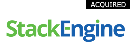 StackEngine  Initial Investment:  Seed in 2014  Acquired by Oracle in 2015 Docker management software.