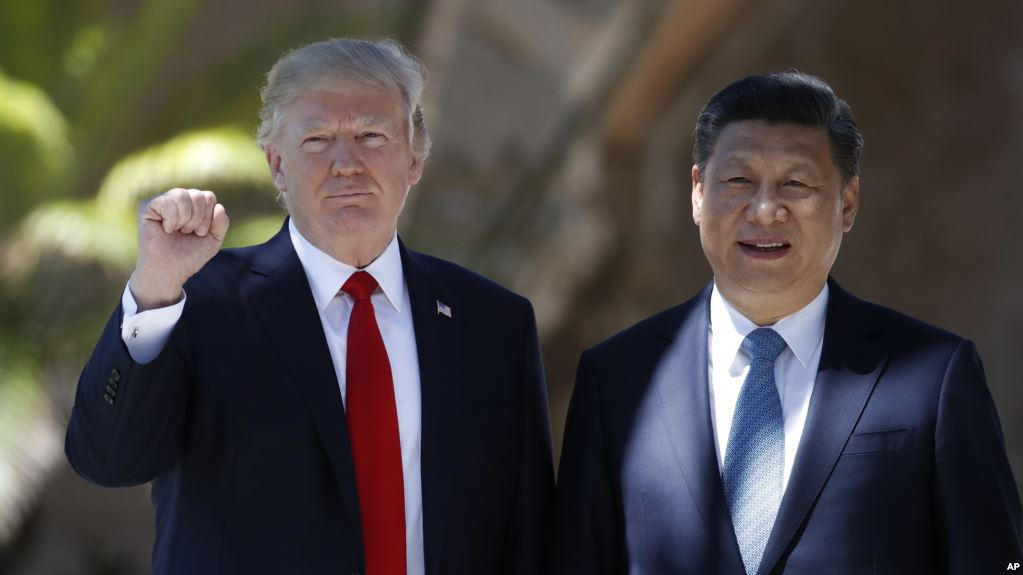 President Trump and President Xi. Source: VOA News