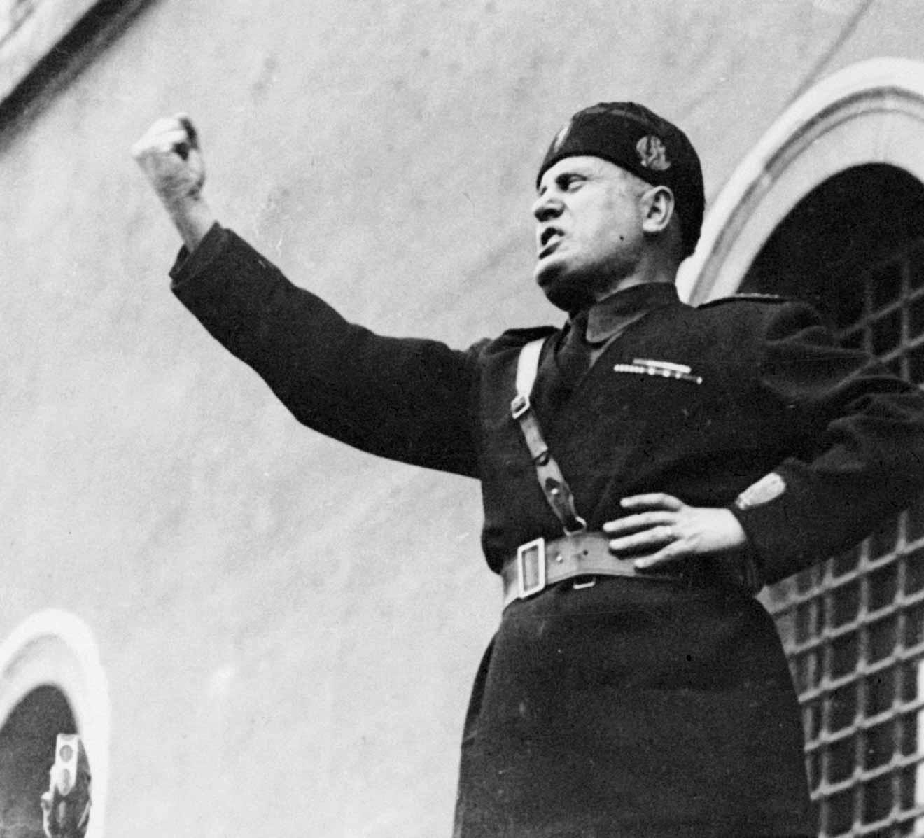 Image: Benito Mussolini