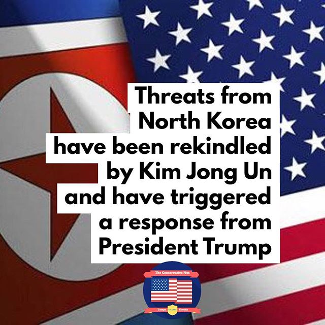 """In a New Year's Day address, Kim Jong Un stated that all of the United States' major cities are in range of North Korea's nuclear capability and that a nuclear button is always in his desk. President Trump responded to the American public via a tweet yesterday, saying, """"North Korean Leader Kim Jong Un just stated that the 'Nuclear Button is on his desk at all times.' Will someone from his depleted and food starved regime please inform him that I too have a Nuclear Button, but it is a much bigger & more powerful one than his, and my Button works!"""" - - - - - #NorthKorea #UnitedStates #KimJongUn #US #Missile #Nuclear #Nukes #Trump #PresidentTrump #ICBM #army #navy #airforce #marines #coastguard #newyear #newyears #new #year #newyearnewme #newyearnewgoals #2018"""