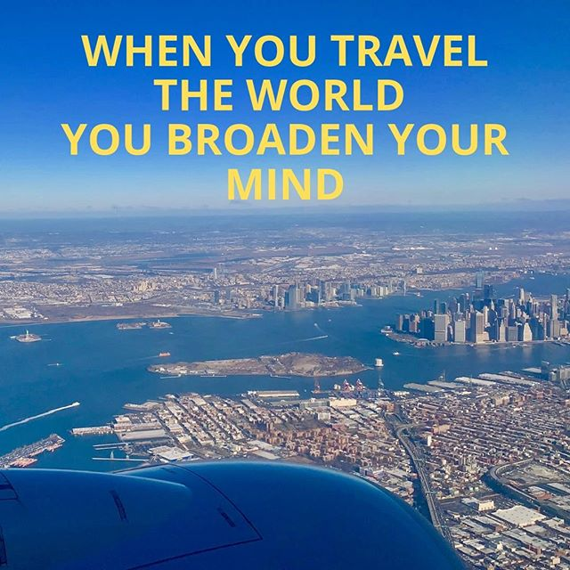 #Traveling can truly #broaden your #perspective and #mindset. You never know what you will #learn along the way. What are some small ways you can incorporate travel in your life?  Extrospection.org #extrospection #growth #quote #motivation #inspiration