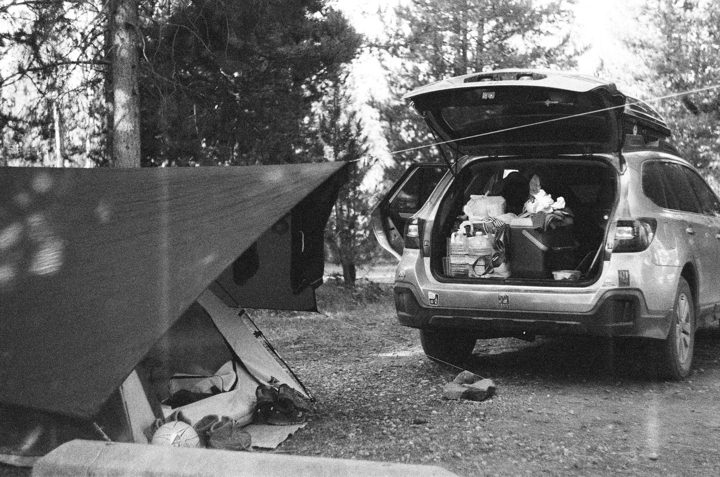 Teton Camp Site