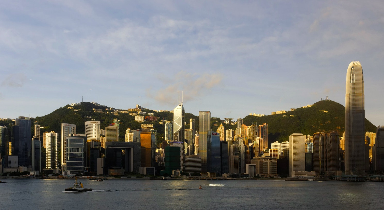 Accenture will hold its fourth annual FinTech Innovation Lab Asia-Pacific in Hong Kong, pictured here at dawn. Licensed under Creative Commons by Flickr user Kimon Berlin.