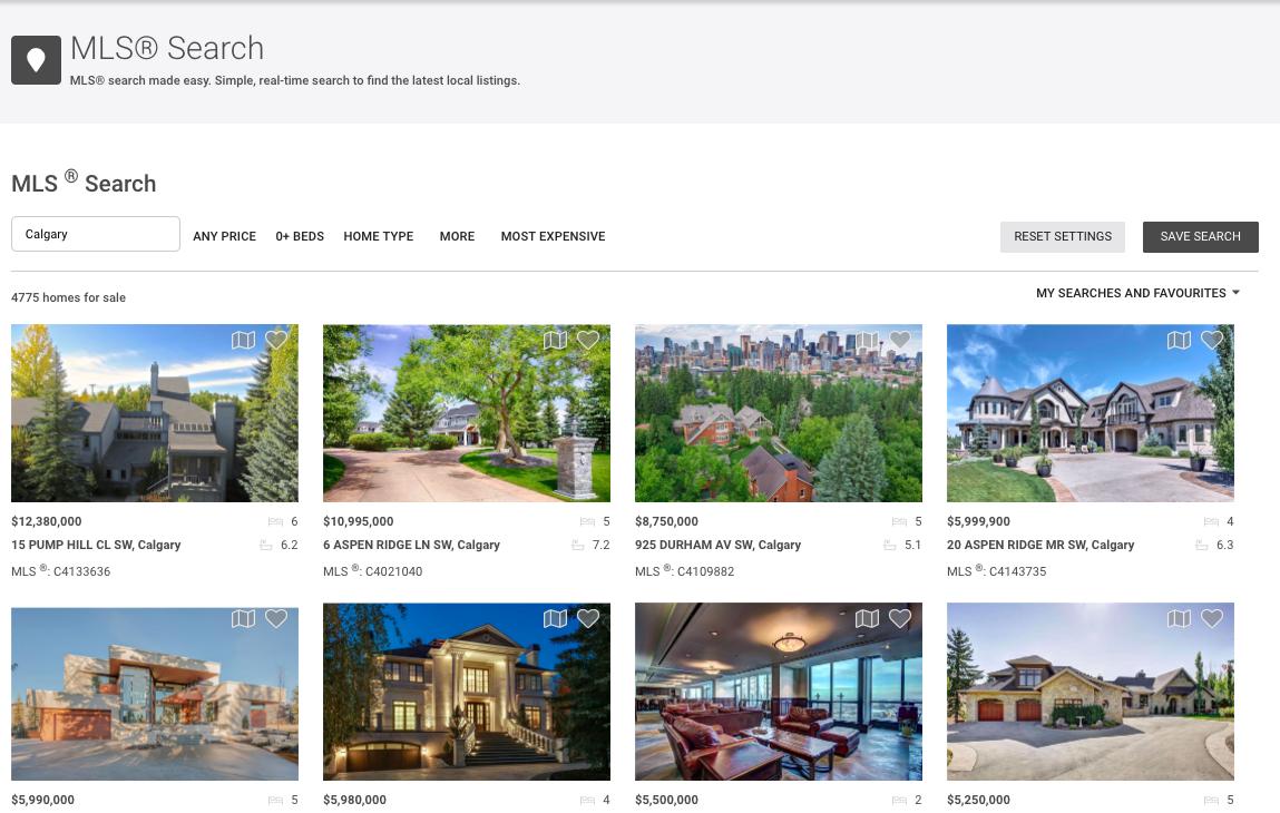 MLS® Search App in RealOffice360