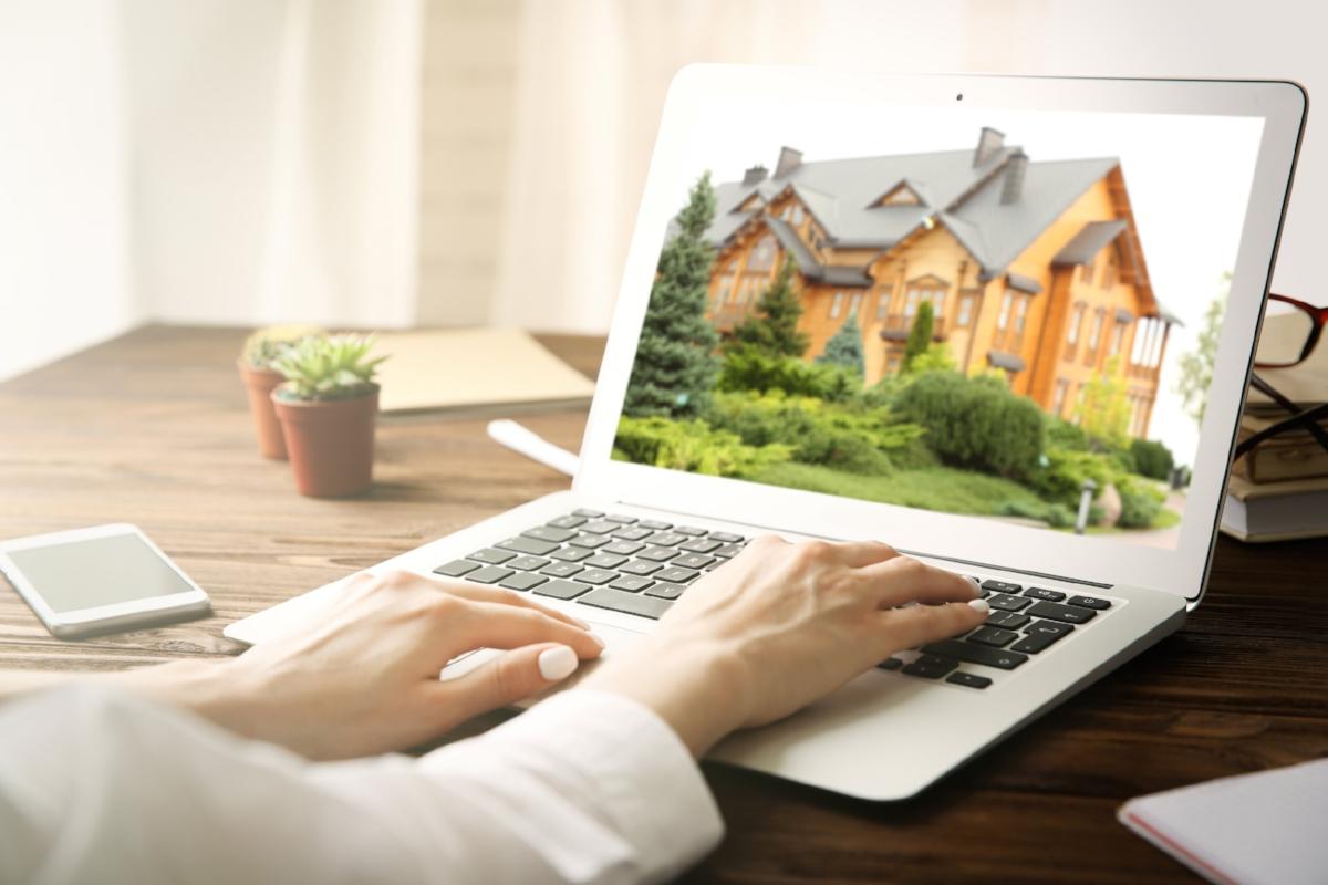 real estate agent website image